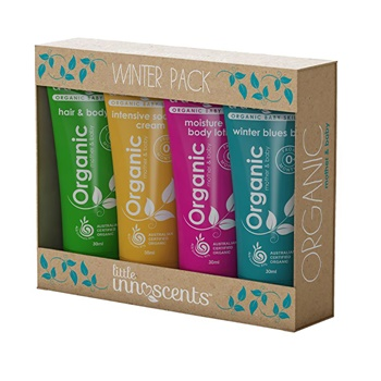 Little Innoscents Winter Pack x 4 (Body Wash, Body Lotion, Soothing Crm & Winter Balm)