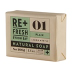 ReFresh Byron Bay Re+Fresh Byron Bay Lemon Myrtle Natural Soap Plain