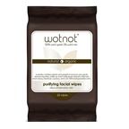 Wotnot Facial Wipes Purifying (Oily/Combination Skin) x 25 Pack