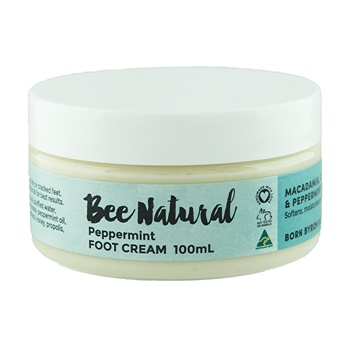 Bee Natural Foot Cream Peppermint