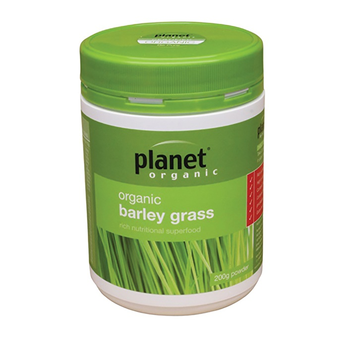 Planet Organic Organic Barley Grass Powder