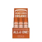 Dr. Bronner's Organic Lip Balm Orange Ginger x 12 display