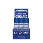 Dr. Bronner's Organic Lip Balm Peppermint x 12 display