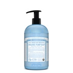 Dr. Bronner's Organic Pump Soap (Sugar 4-in-1) Baby Unscented