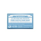 Dr. Bronner's Pure-Castile Bar Soap (Hemp All-One) Baby Unscented