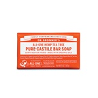 Dr. Bronner's Pure-Castile Bar Soap (Hemp All-One) Tea Tree