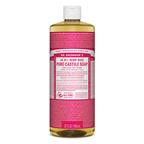 Dr. Bronner's Pure-Castile Soap Liquid Rose