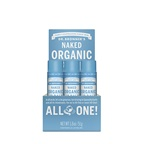 Dr. Bronner's Organic Lip Balm Naked x 12 display