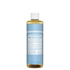Dr. Bronner's Pure-Castile Soap Liquid (Hemp 18-in-1) Baby Unscented