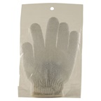 Clover Fields Massage Glove White