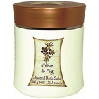 Clover Fields Olive & Fig Mineral Bath Salts