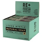 ReFresh Byron Bay Re+Fresh Byron Bay Lemon Myrtle Natural Soap Mixed (Exfoliating & Plain)