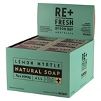 ReFresh Byron Bay Re+Fresh Byron Bay Lemon Myrtle Natural Soap Exfoliating