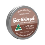 Bee Natural Lip Balm Tin Coconut