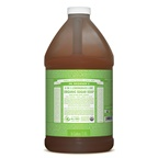 Dr. Bronner's Organic Pump Soap Refill (Sugar 4-in-1) Lemongrass Lime
