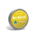 Bee Natural Lip Balm Tin Lemon Myrtle