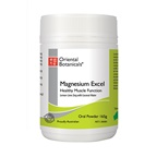Oriental Botanicals Magnesium Excel (Lemon Lime Zing) Oral Powder