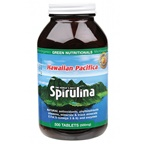 MicrOrganics Green Nutritionals Hawaiian Pacifica Spirulina 500mg