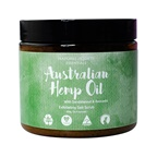 Clover Fields Nature's Gifts Australian Hemp Oil with Sandalwood & Avocado Exfol. Salt Scrub