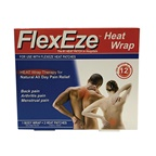 FlexEze Heat Wrap (1 x Body Wrap and 2 x Heat Patches)