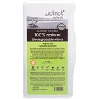 Wotnot 100% Natural Biodegradable Wipes x (Travel Hard Case)
