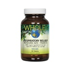 Whole Earth & Sea Respiratory Relief (Horseradish, Garlic + Vitamin C)