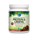 Whole Earth & Sea Protein & Greens Organic Chocolate