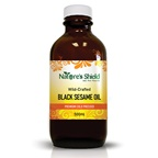 Nature's Shield Wild-Crafted Black Sesame Oil