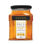 BERRINGA HONEY Berringa Australian Pure Raw & Unfiltered Honey with Honeycomb