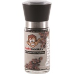SaltCo Funky Monkey Ceramic Grinder Peppercorns