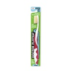 Dr Plotkas Doctor Plotka's Mouthwatchers Toothbrush Adult Soft Red