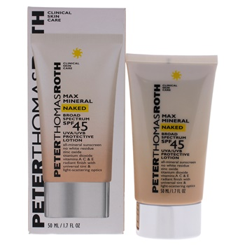 Peter Thomas Roth Max Mineral Naked SPF 45 Lotion
