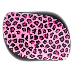 Tangle Teezer Compact Styler Detangling Hairbrush - Pink Leopard Hair Brush