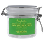 Shea Moisture African Water Mint and Ginger Bath Sugar Cubes Bath Soak