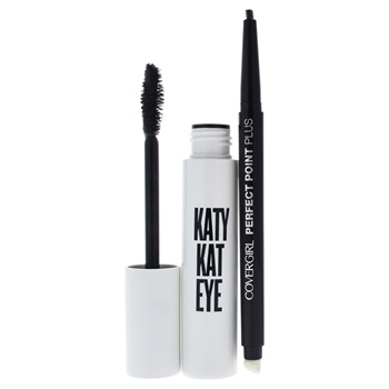 Covergirl Katy Kat Eye Duo 0.35oz Mascara - 800 Very Black, 0.08oz Perfect Poin Plus Eye Pencil - 200 Black Onyx