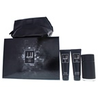 Dunhill Icon Elite 3.4oz EDP Spray, 3oz Shower Gel, 3oz After Shave Balm, Pouch
