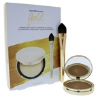 BareMinerals Gold Obsession Set 0.35oz Chandelight Glow Illuminateur, Complexion Perfector Brush