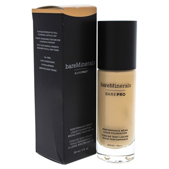 BareMinerals Barepro Performance Wear Liquid Foundation SPF 20 - 09 Light Natural