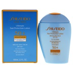 Shiseido Ultimate Sun Protection Lotion WetForce SPF 50 for Sensitive Skin and Children Sunscreen