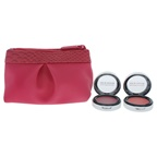 BareMinerals Blush and Blush Pop Cheek 2 x 0.07oz Pop of Passion Blush Balm - Berry Passion, Petal Passion and Bag