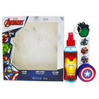Marvel Avengers 5.1oz Body Spray, Tattoo, YoYo, KeyRing