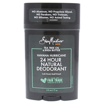 Shea Moisture Tea Tree Oil and Shea Butter Havana Hurricane 24H Natural Deodorant Deodorant Stick