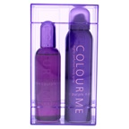 Milton-Lloyd Colour Me Purple 3.4oz EDP, 5oz Body Spray