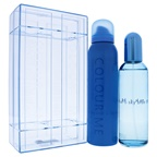Milton-Lloyd Colour Me Sky Blue 3.4oz EDP, 5oz Body Spray
