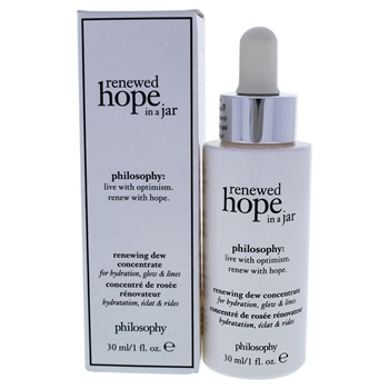 Philosophy Renewed Hope in A Jar Renewing Dew Concentrate Serum