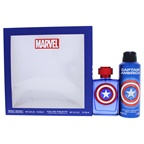 Marvel Captain America 3.4oz EDT Spray, 6.8oz Body Spray