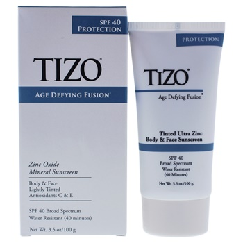 Tizo Body And Face Lightly Tinted SPF 40 Sunscreen