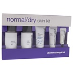 Dermalogica Normal Dry Skin Kit 1.7oz Special Cleansing Gel, 0.3oz Gentle Cream Exfoliant, 1.7oz Multi-Active Toner, 0.5oz Skin Smoothing Cream, 0.1oz Intensive Eye Repair
