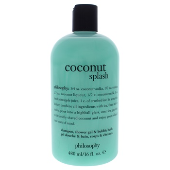 Philosophy Coconut Splash Shampoo, Shower Gel and Bubble Bath