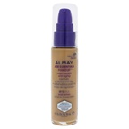 Almay Age Essentials Multi-Benefit Anti-Aging Makeup - 120 Light Warm Foundation